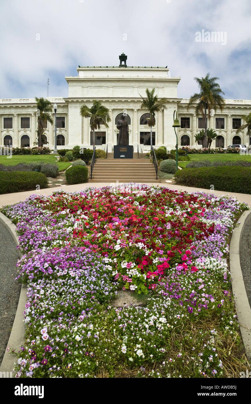 San Buenaventura City Hall Ventura, California, USA Stock Photo ...
