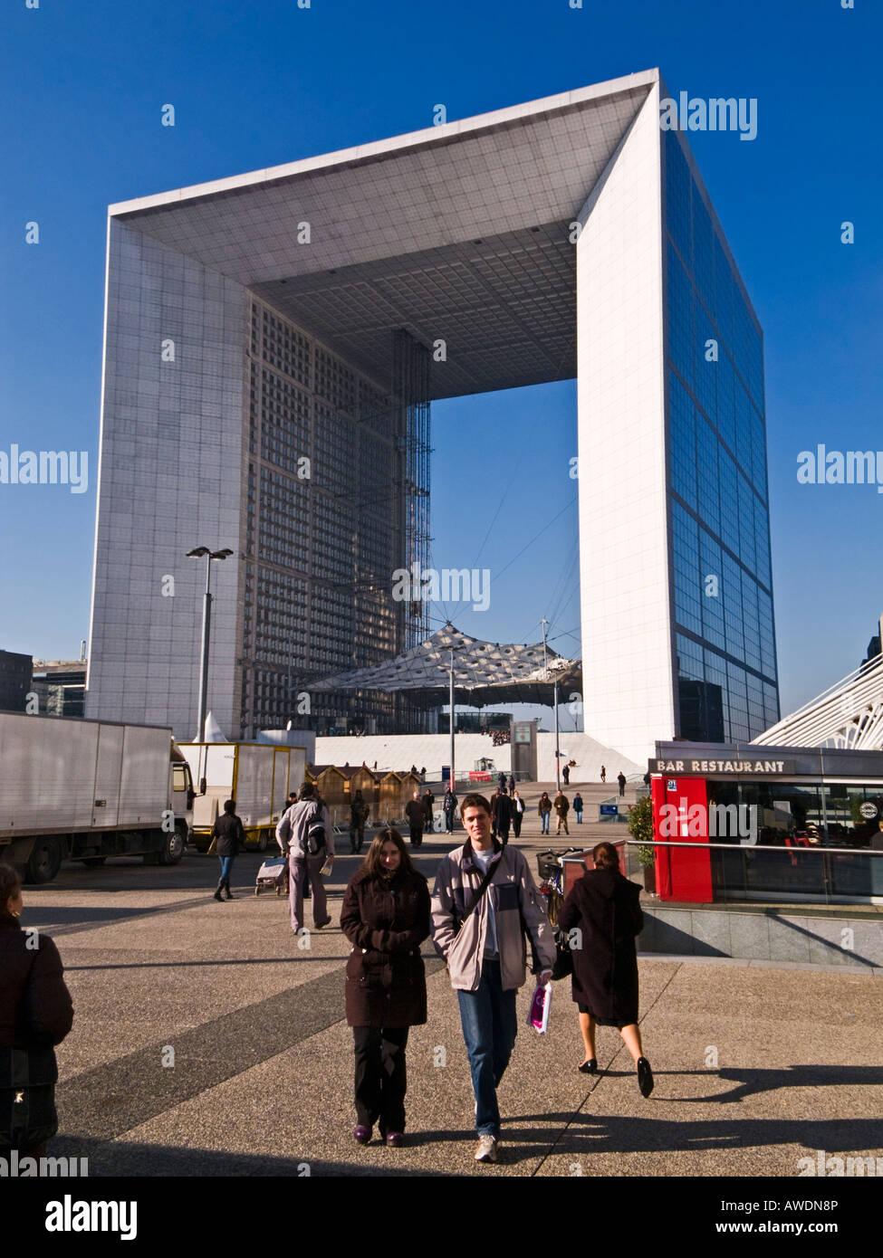La Defense, Paris, France - Stock Image