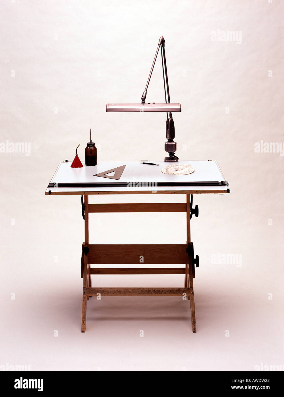 drafting draftsman architect designer engineer work table l& tools triangle graphic arts desk l& & drafting draftsman architect designer engineer work table lamp tools ...
