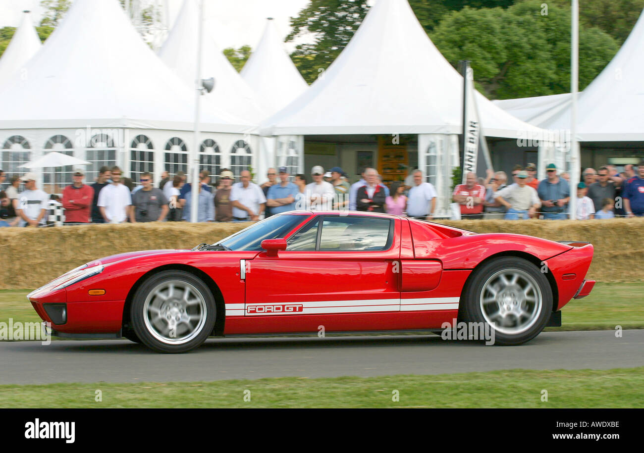 Ford Gt At Goodwood Festival Of Speed Sus Uk Stock Image