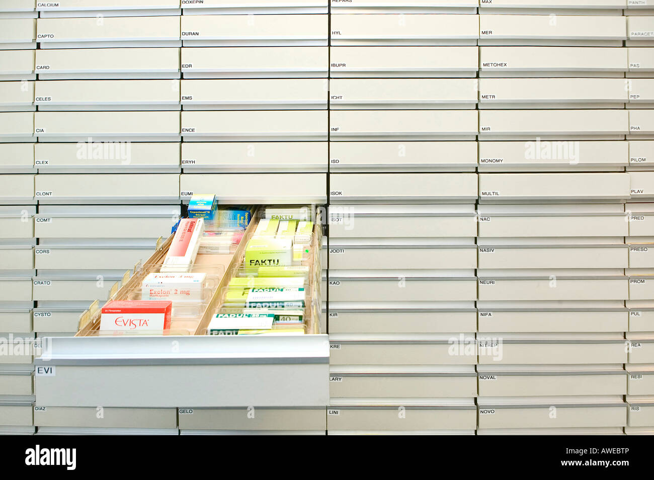 Health Store Pharmacy Specialist Stock Storage Drug Cabinet Pharmaceutical