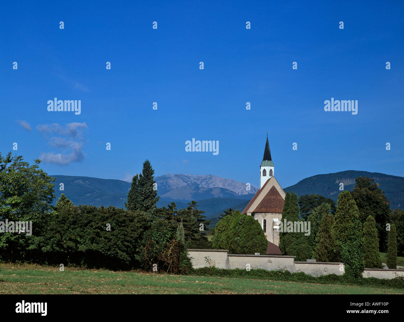 Peterskirche (St. Peter's Church), Neunkirchen, Lower ...