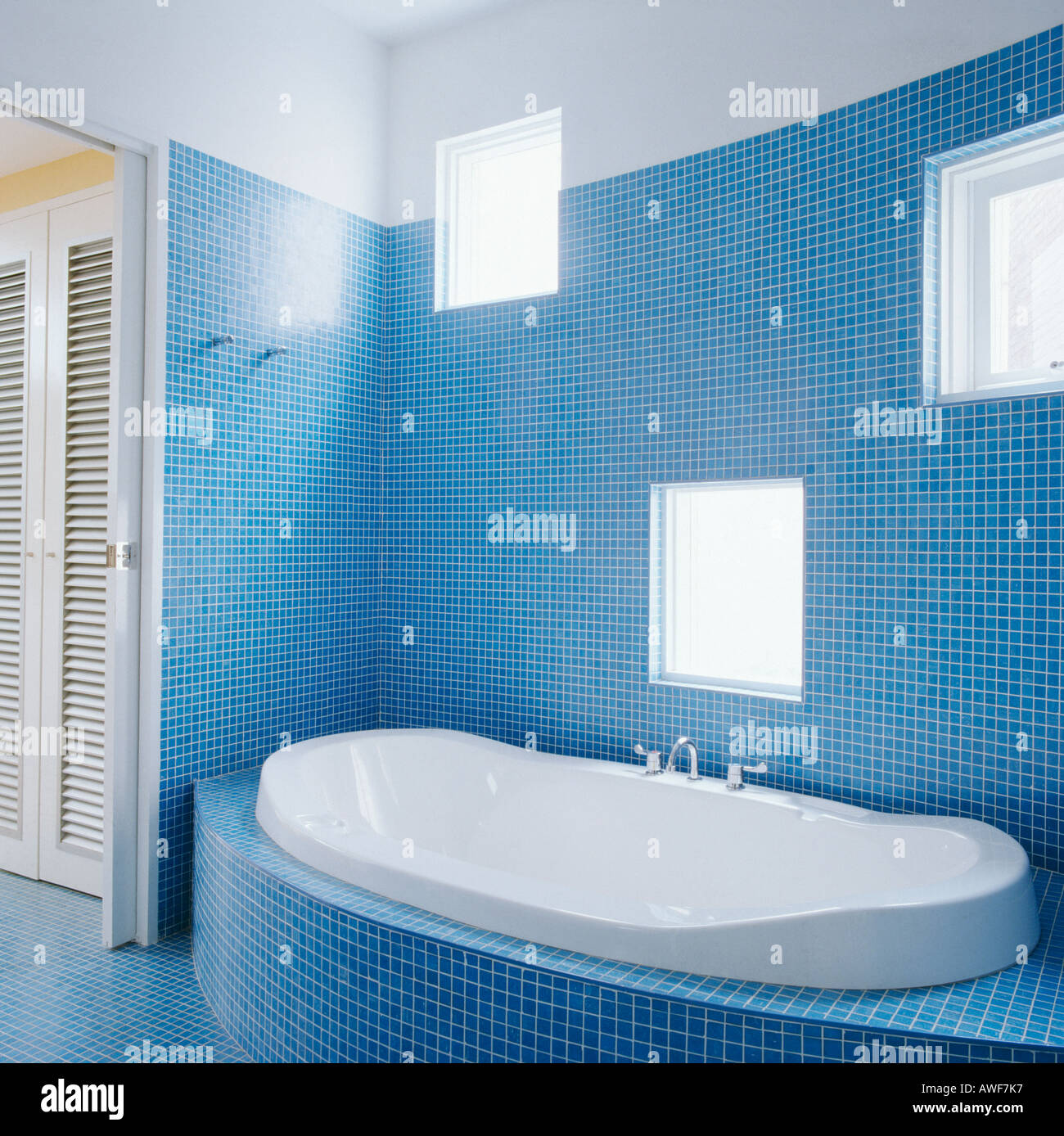 Bathrooms Interiors Modern Town Stock Photos & Bathrooms Interiors ...