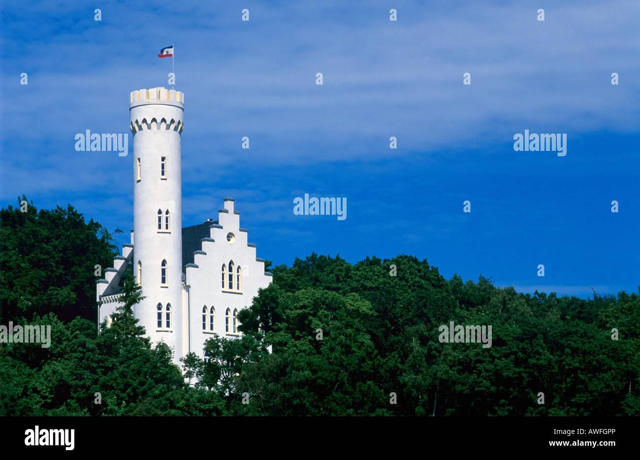 Lietzow Castle, Ruegen Island, Mecklenburg-Western Pomerania, Germany, Europe Stock Photo