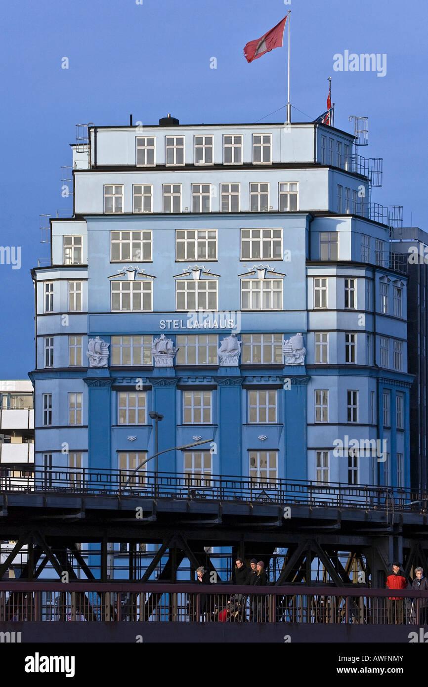 Stellahaus in the city of Hamburg - Hamburg, Germany, Europe Stock Photo