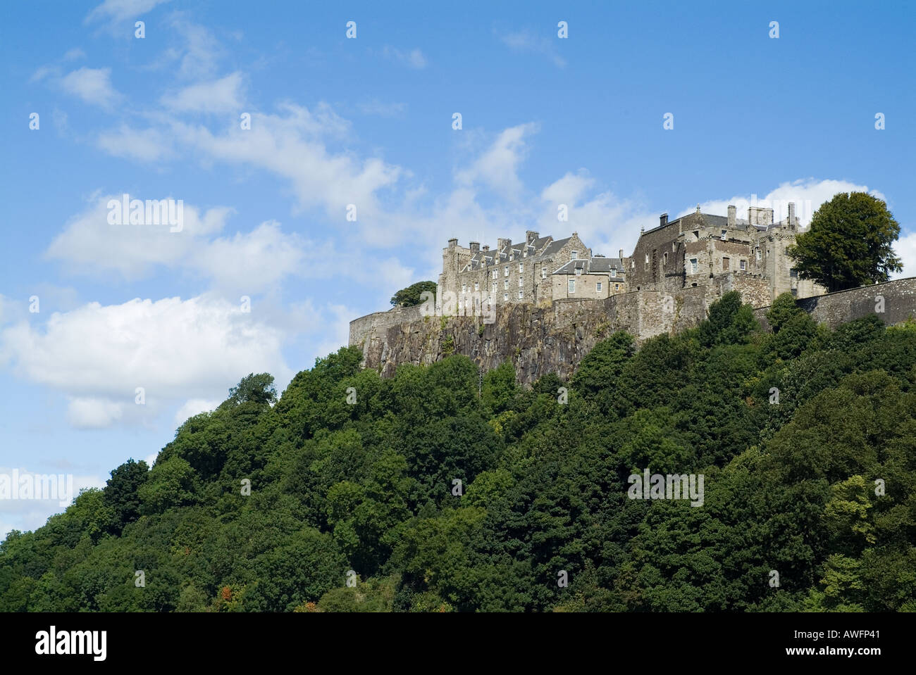 dh  STIRLING STIRLINGSHIRE Stirling Castle Stock Photo