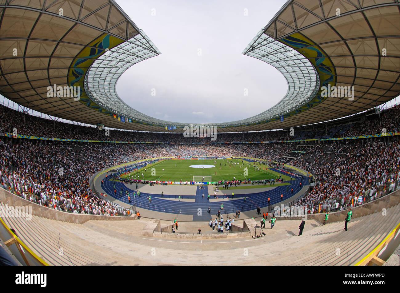 Olympiastadion Berlin, Germany - Stock Image