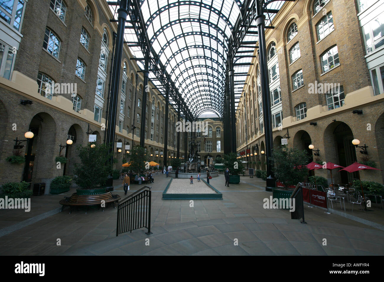 Hays Galleria On Hays Wharf Near River Thames A Popular Tourist