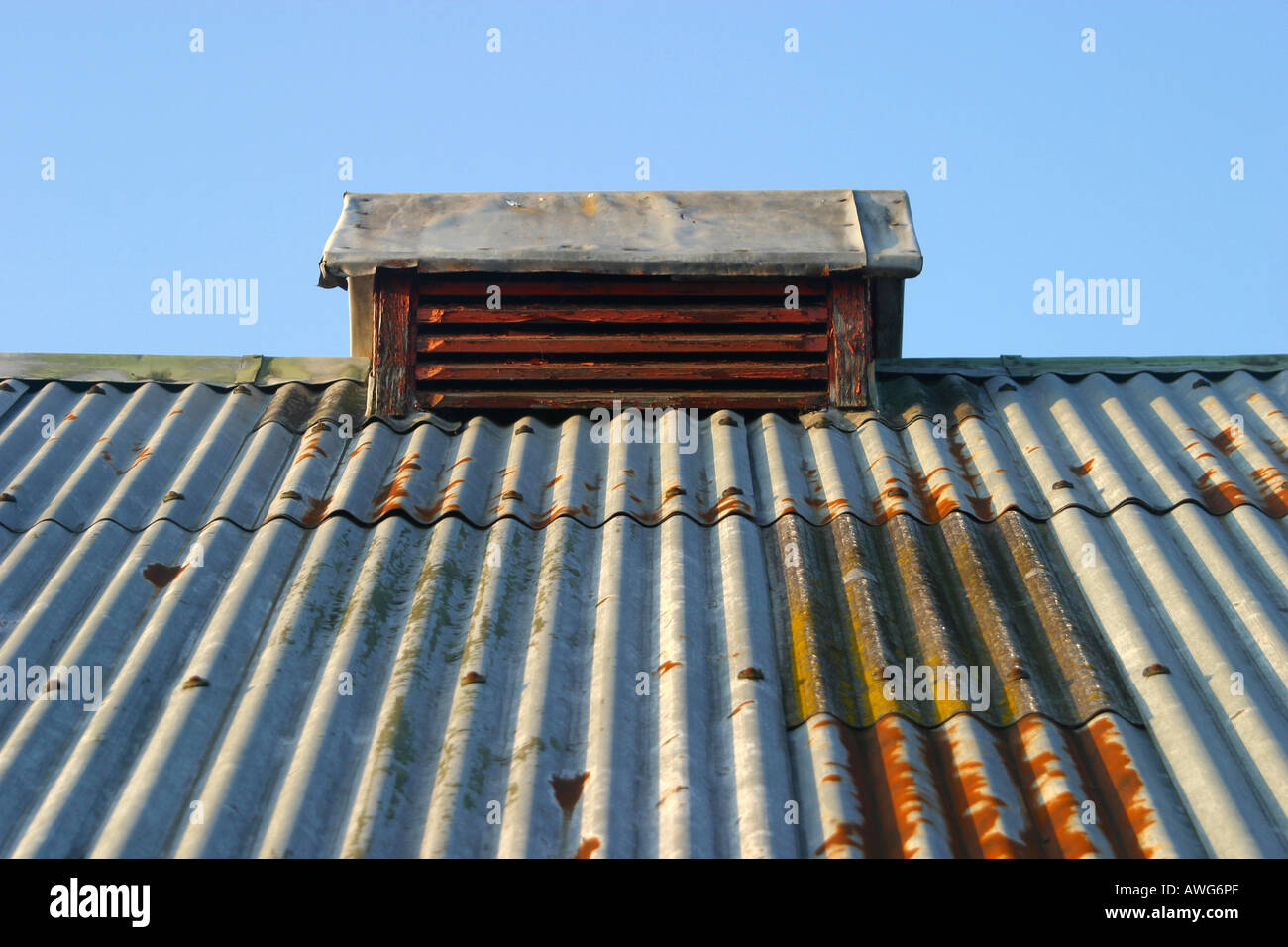 Farm Shed Corrugated Iron Roof High Resolution Stock Photography And Images Alamy
