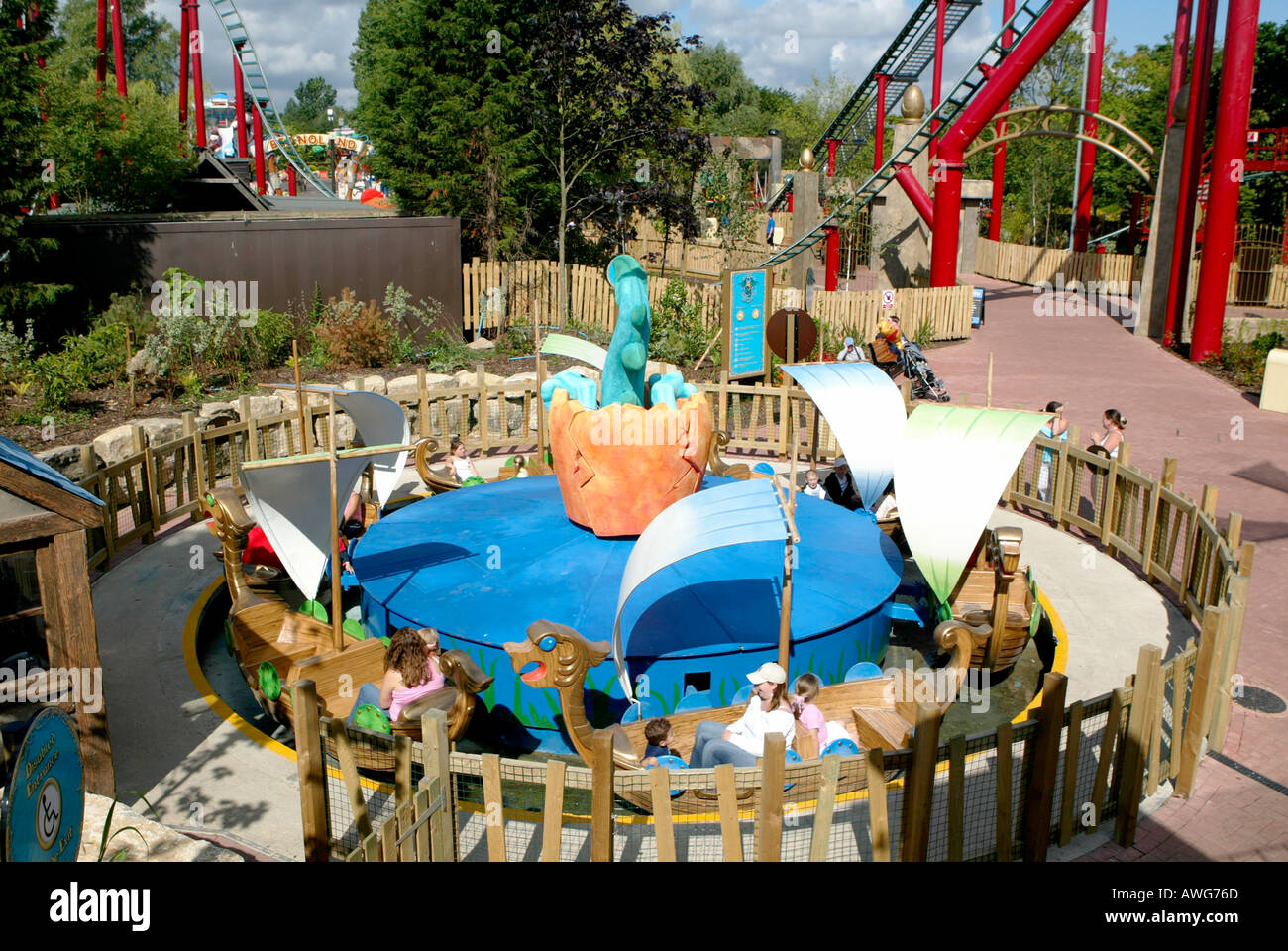 Land Of The Dragons At Chessington World Adventures Surrey UK