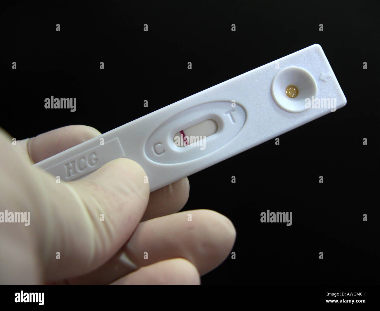 Negative Pregnancy Test High Resolution Stock Photography And