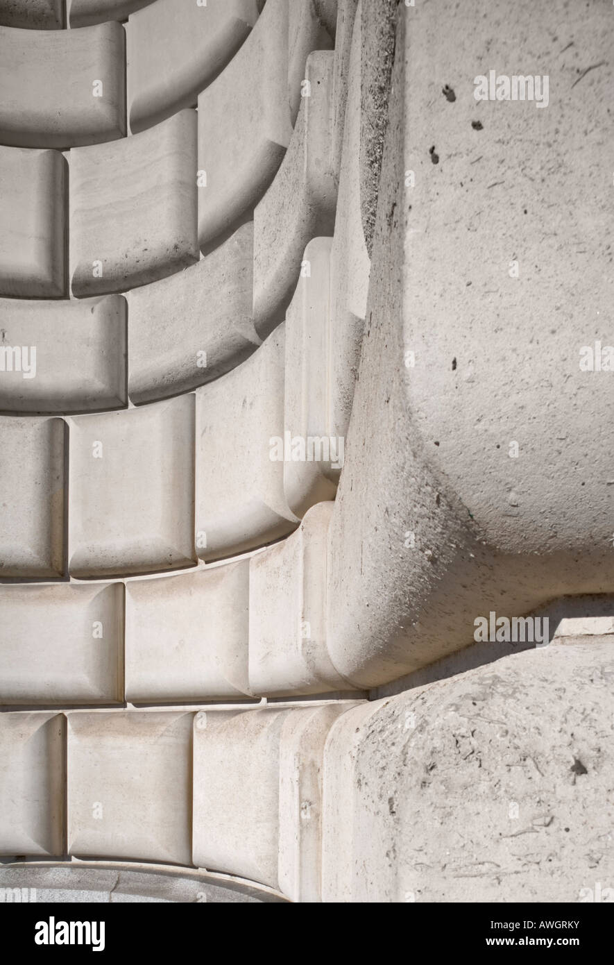Unilever House at Blackfriars London - Stock Image