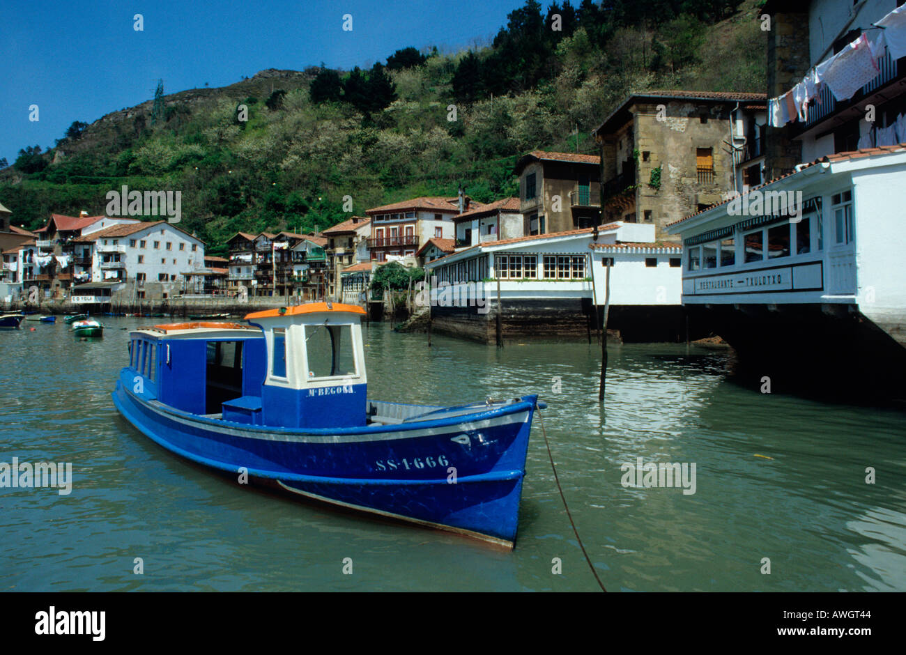 Pasajes de San Juan .Guipuzcoa. Basque Country .Spain - Stock Image