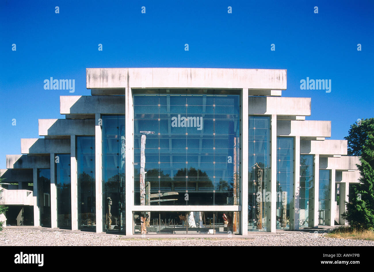 Moa Ubc Architecture Stock Photos & Moa Ubc Architecture Stock ...