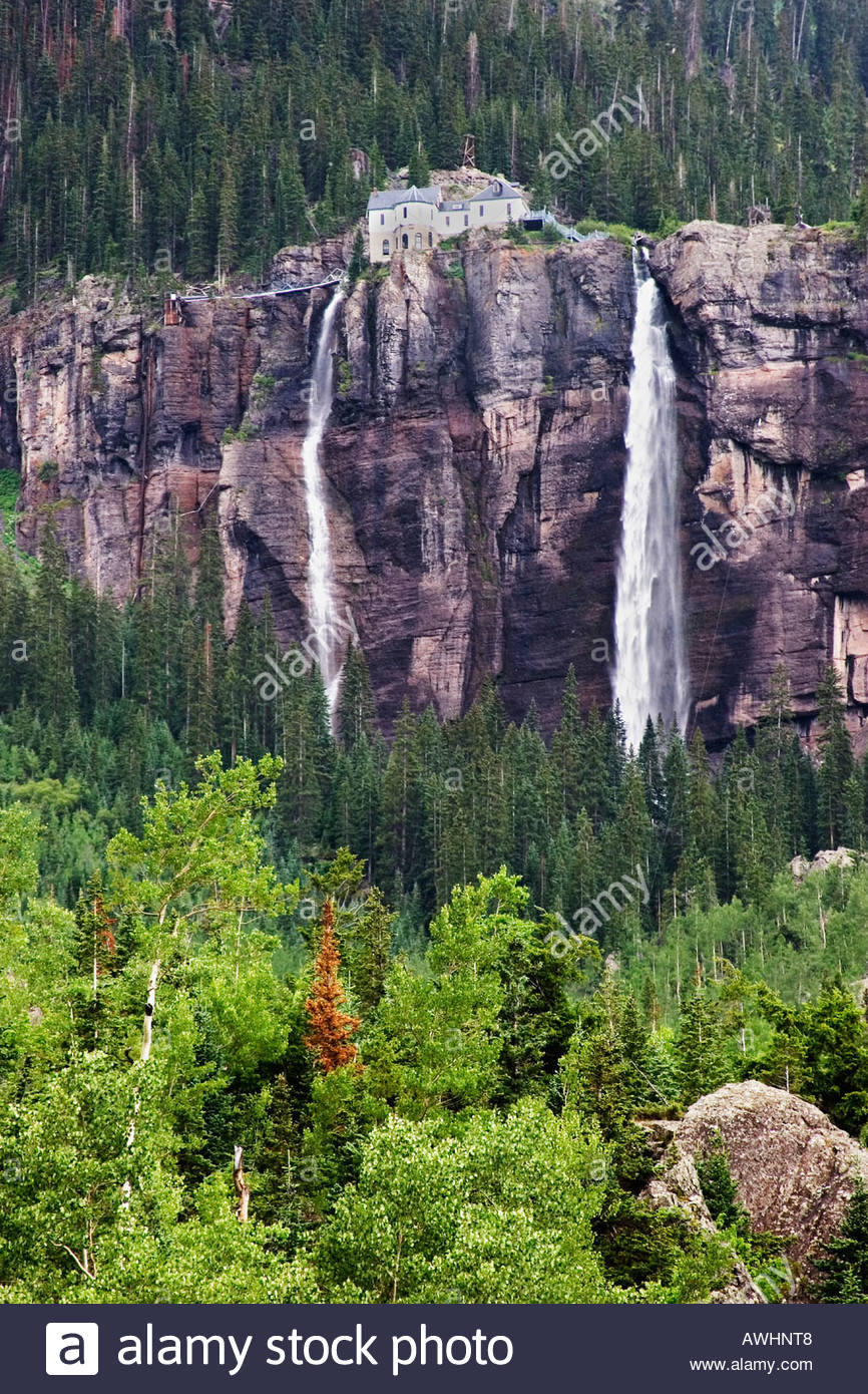 Black Bear Pass Colorado >> Bridal Veil Waterfall By Black Bear Pass In Telluride