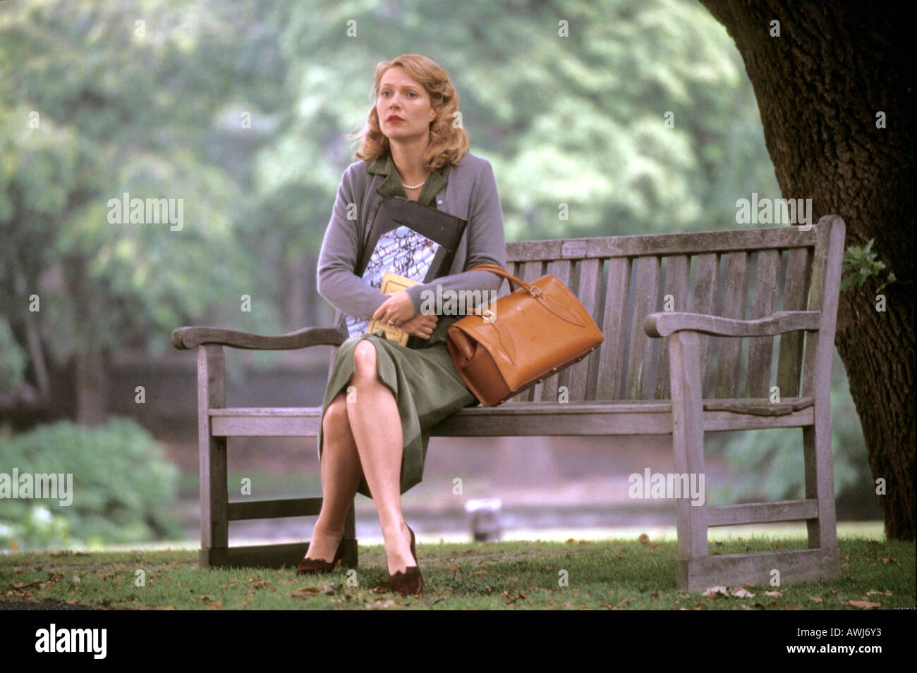 Sylvia 2003 Icon Film With Gwyneth Paltrow Stock Photo