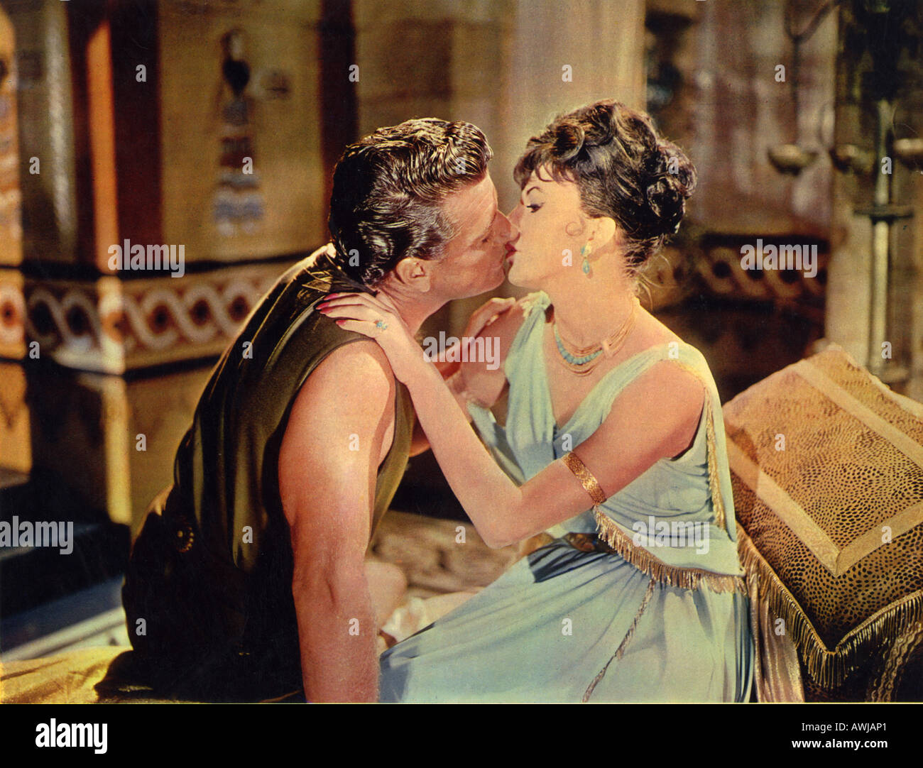 ESTHER AND THE KING 1960 TCF film with Joan Collins and Richard Egan - Stock Image