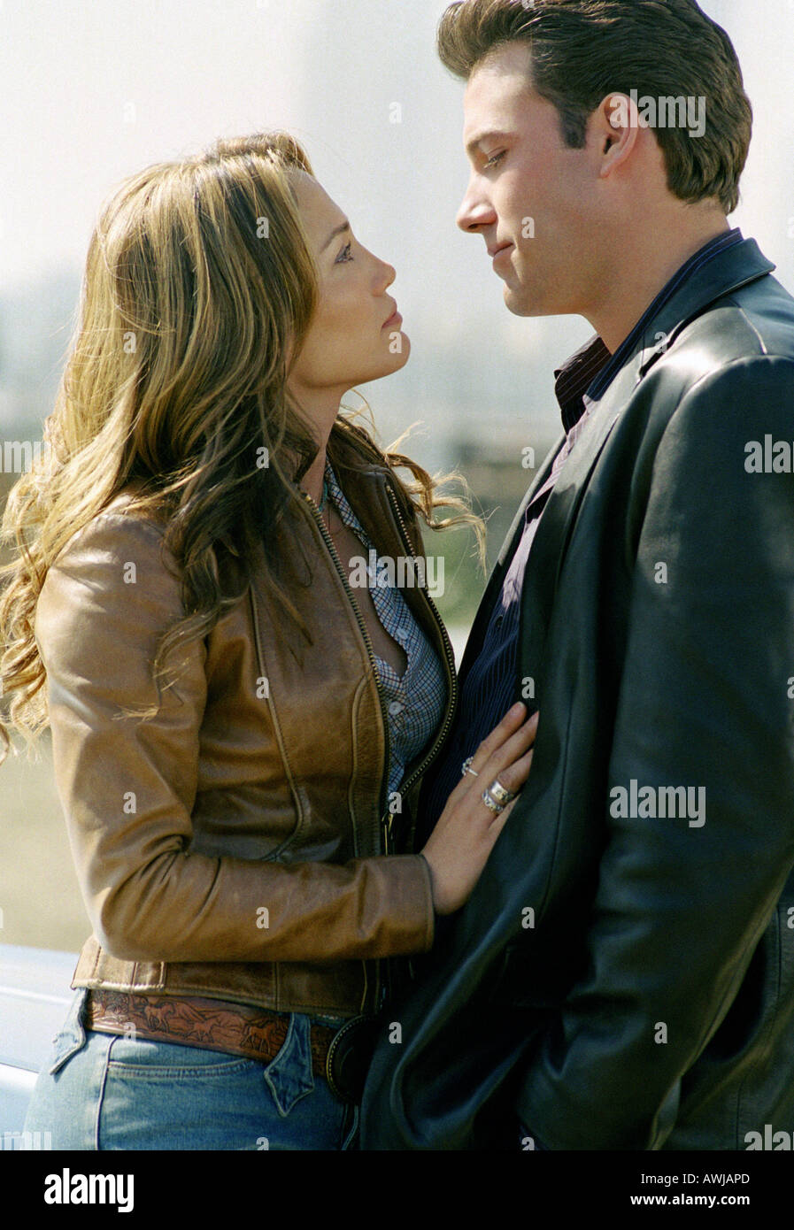 GIGLI  2003 Columbia film with Jennifer Lopez and Ben Affleck - Stock Image