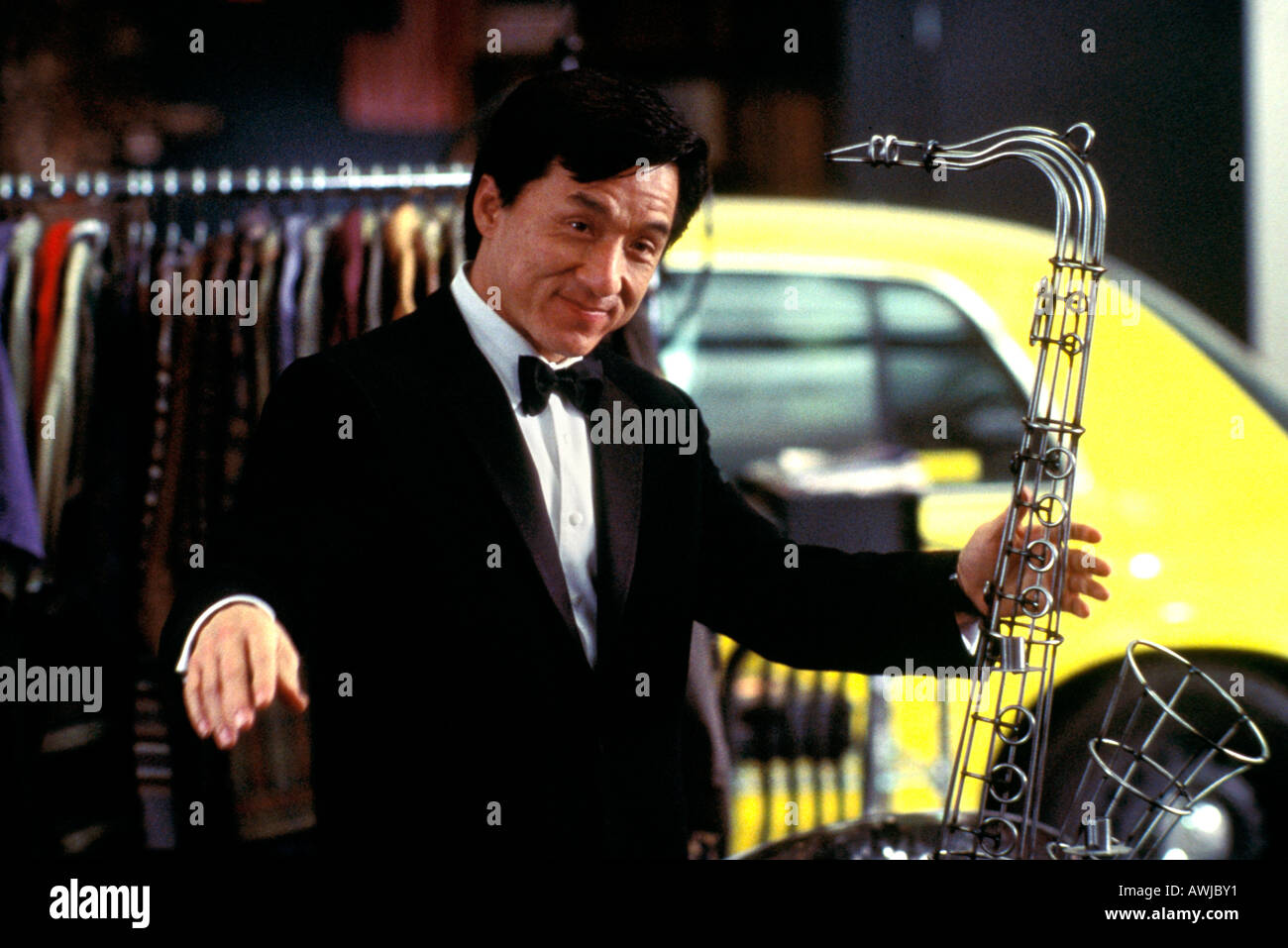 THE TUXEDO 2002 Dream Works film with Jackie Chan - Stock Image