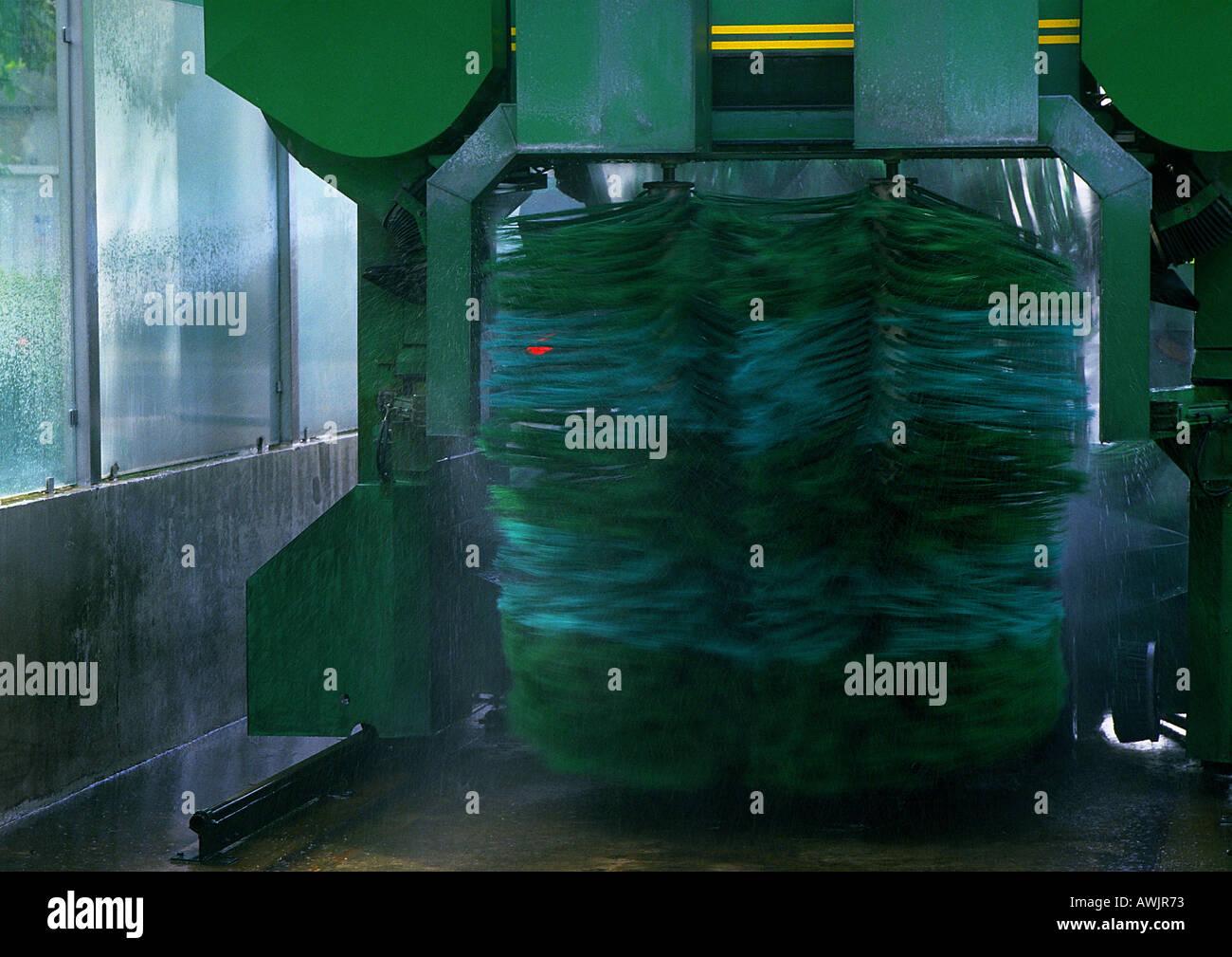 Automatic carwash - Stock Image