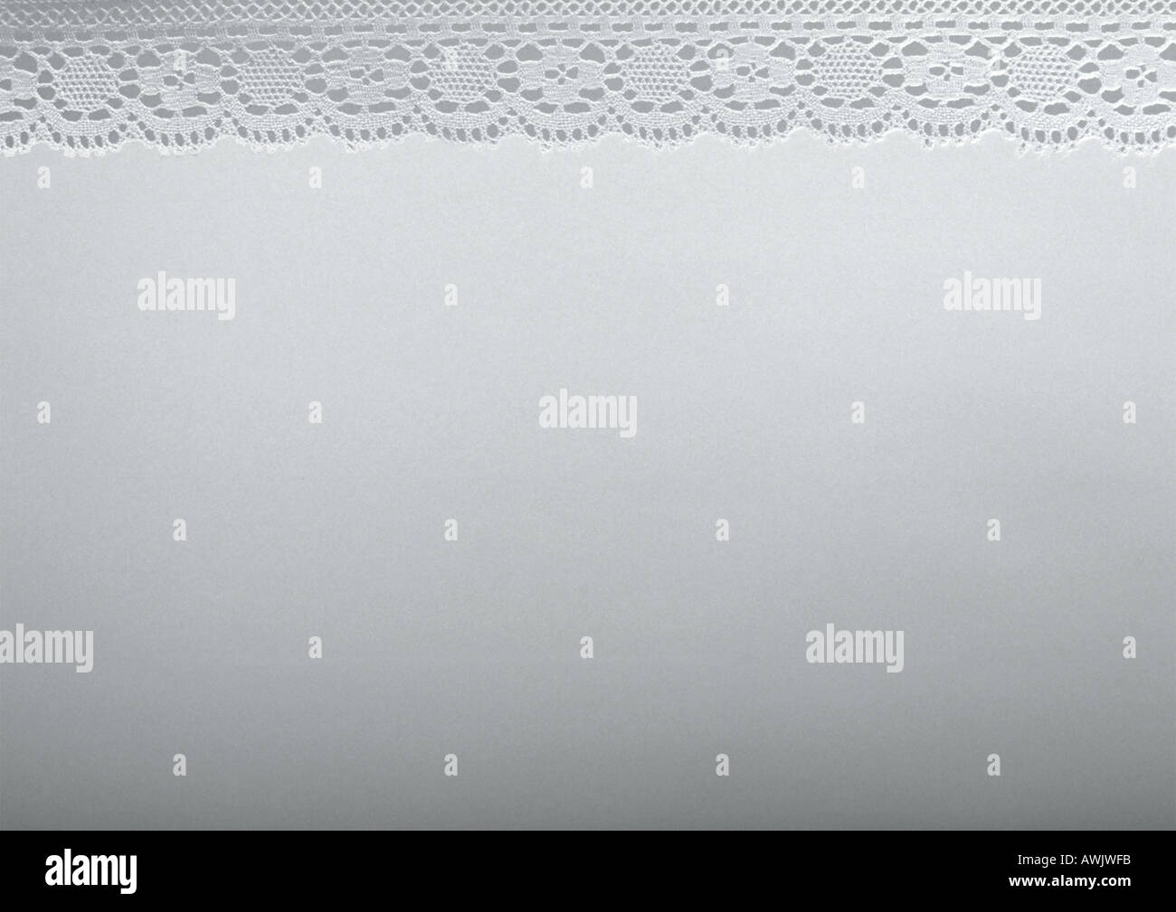 White fabric, close-up, full frame - Stock Image