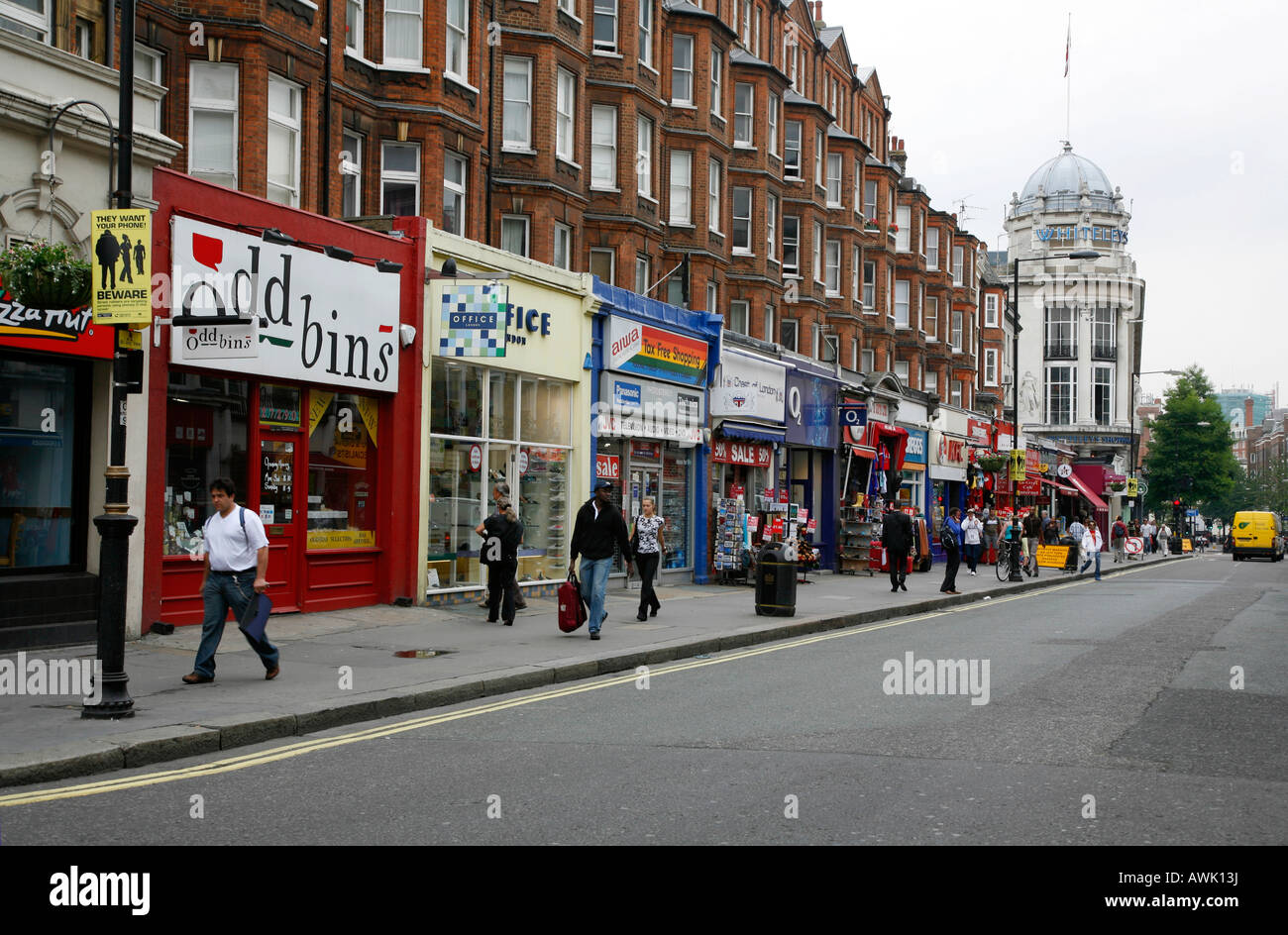 Queensway in bayswater london stock photo 16599221 alamy for The bayswater