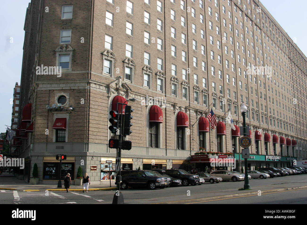 Boston Park Plaza Hotel In Arlington Street In Boston Massachusetts