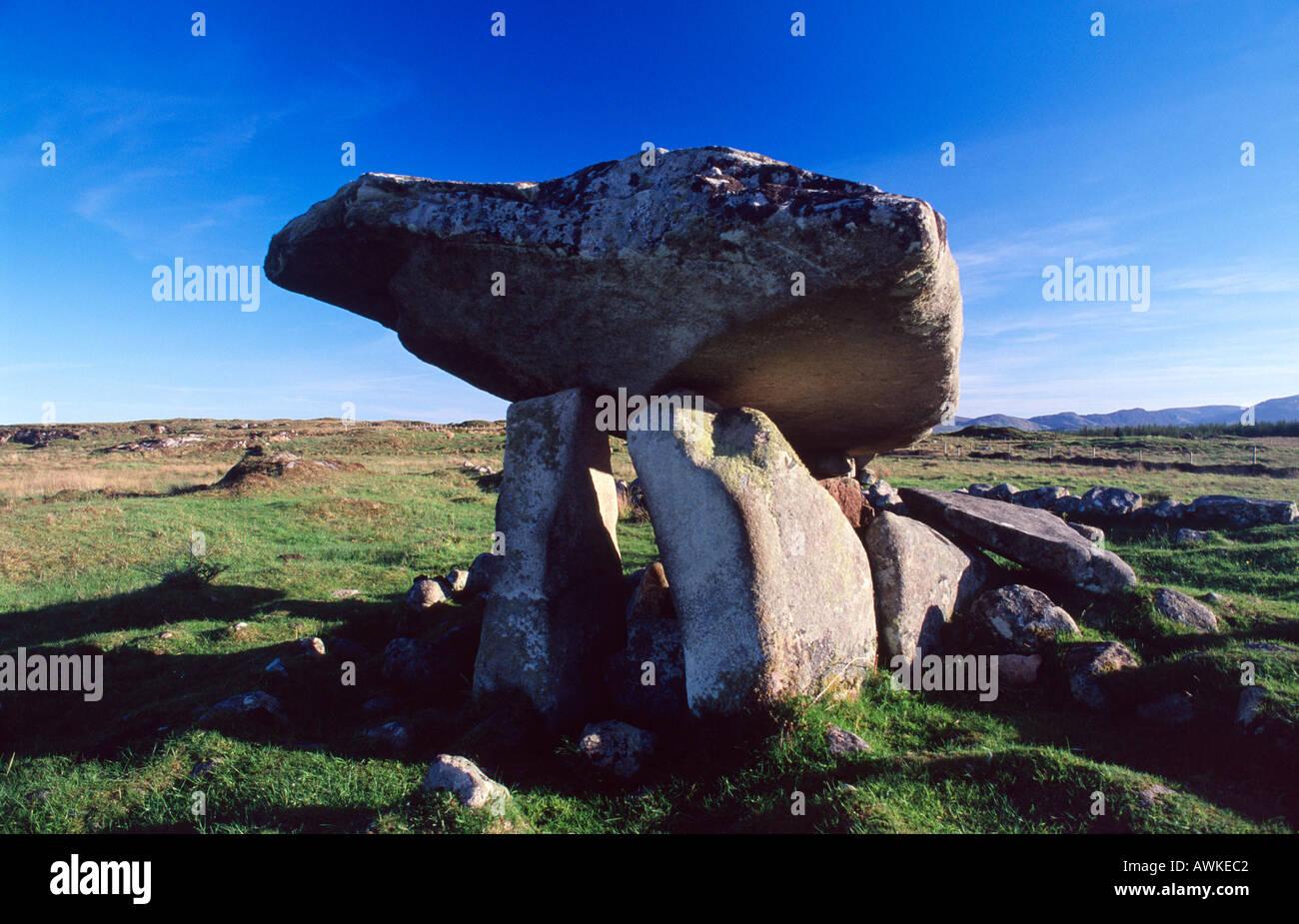Kilcooney Dolmen, Co Donegal, Ireland - Stock Image