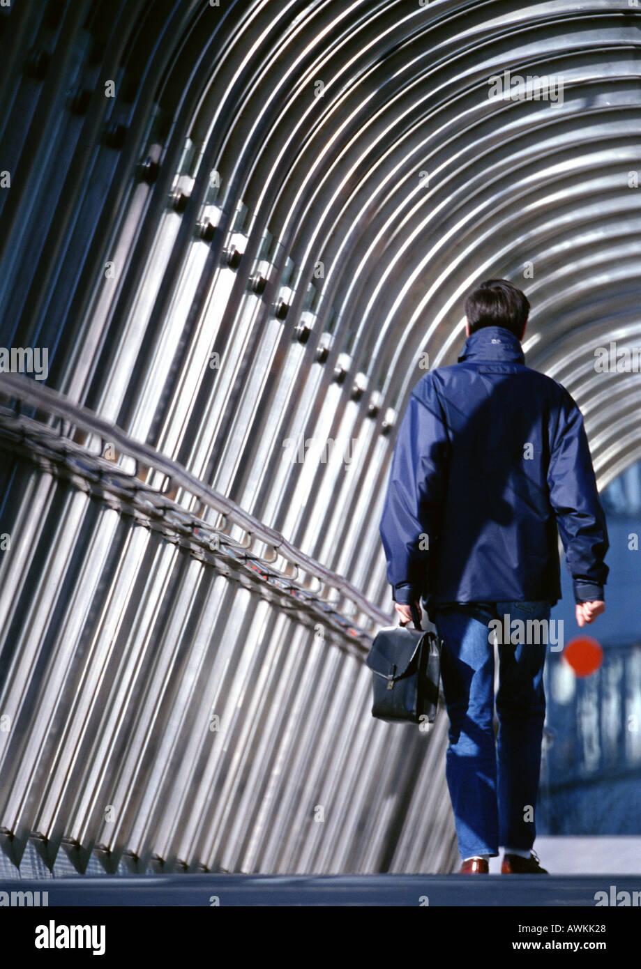 Man walking - Stock Image