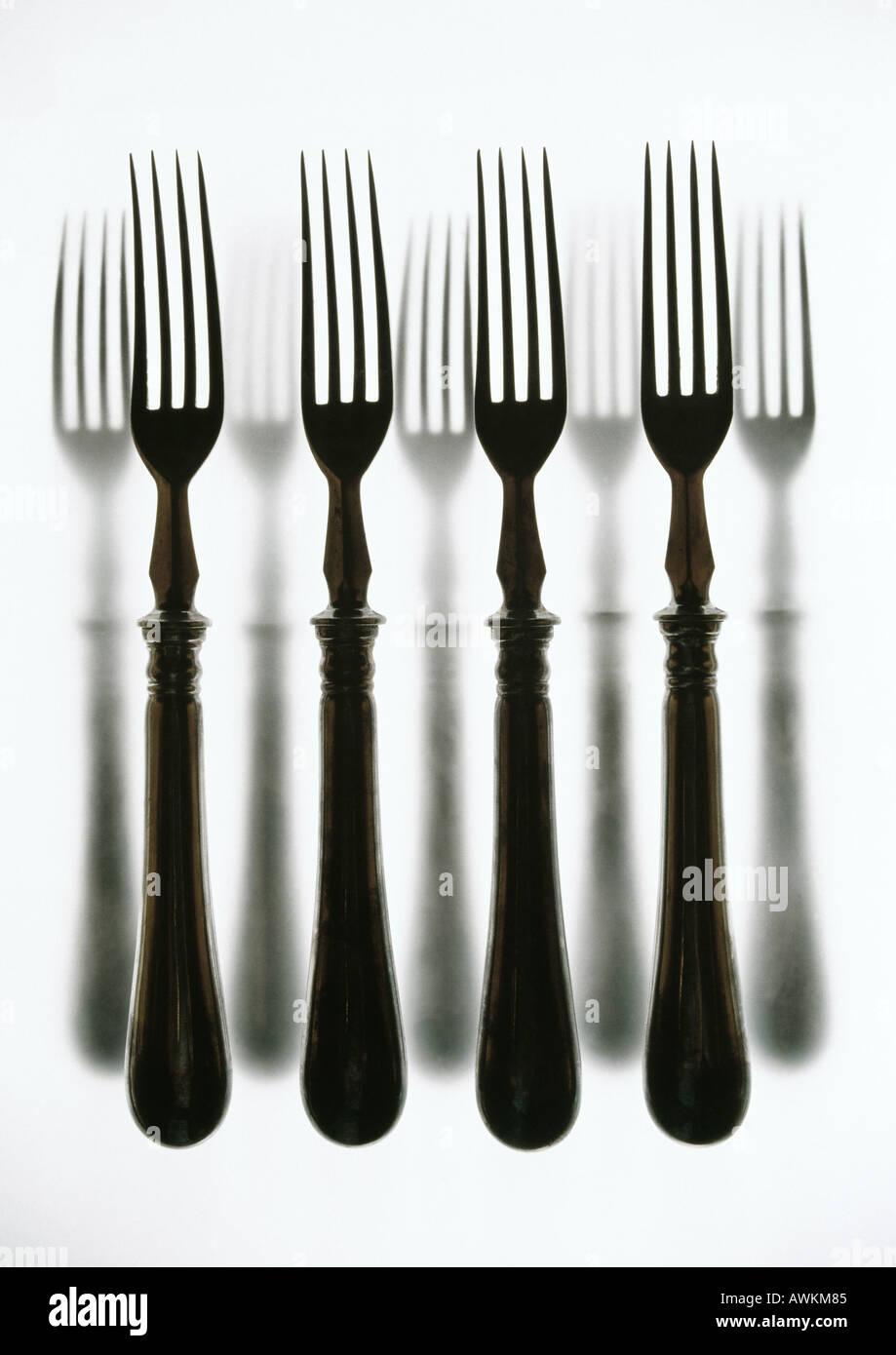 Forks - Stock Image
