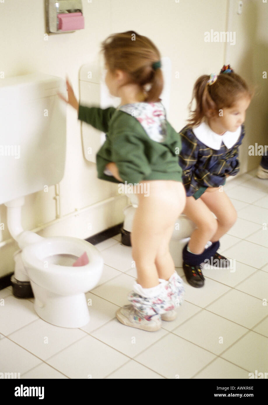 boy nude in a toilet