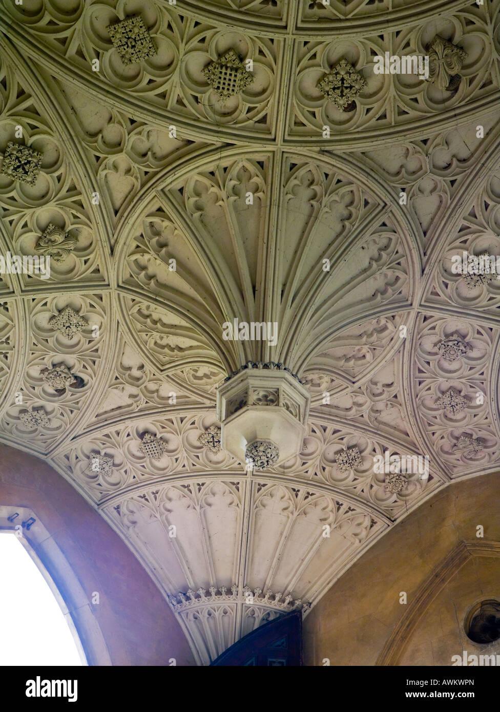 The New Court, St John's College, Cambridge, England, UK - Stock Image