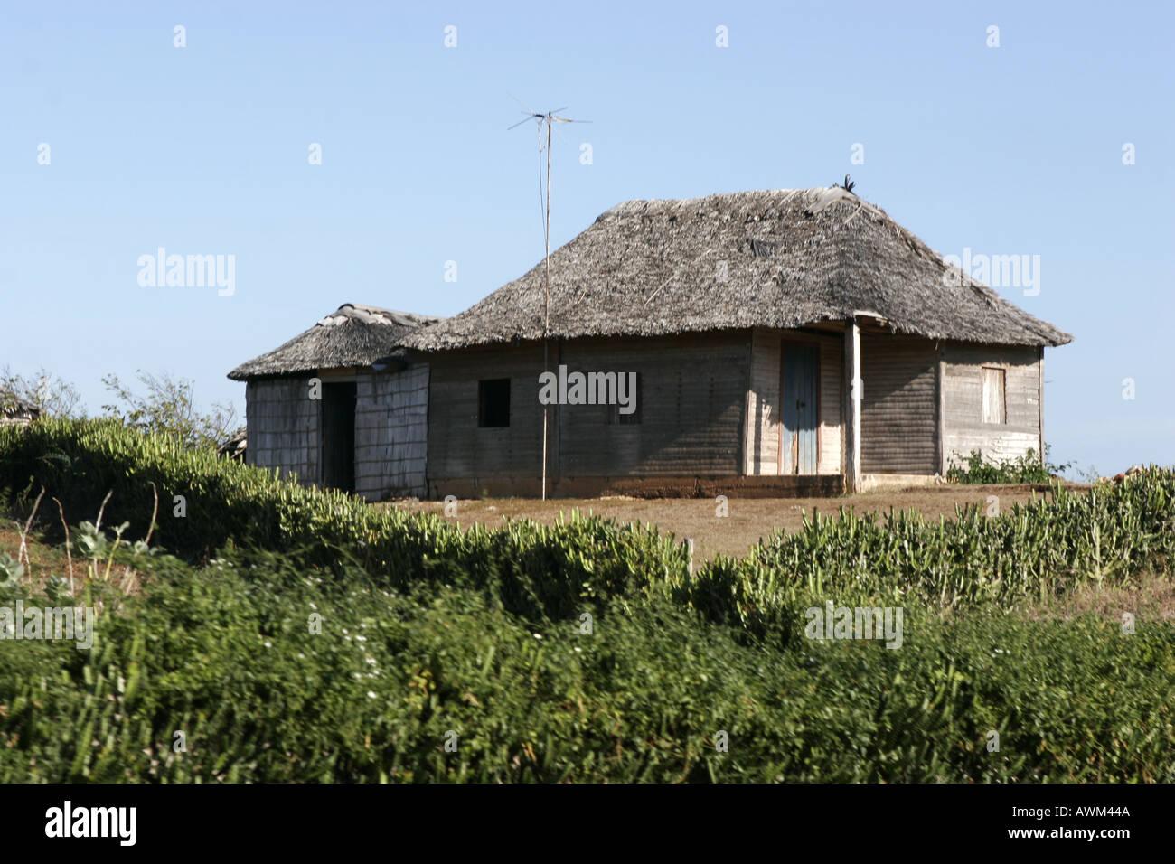 house in Guadalavarca Cuba - Stock Image