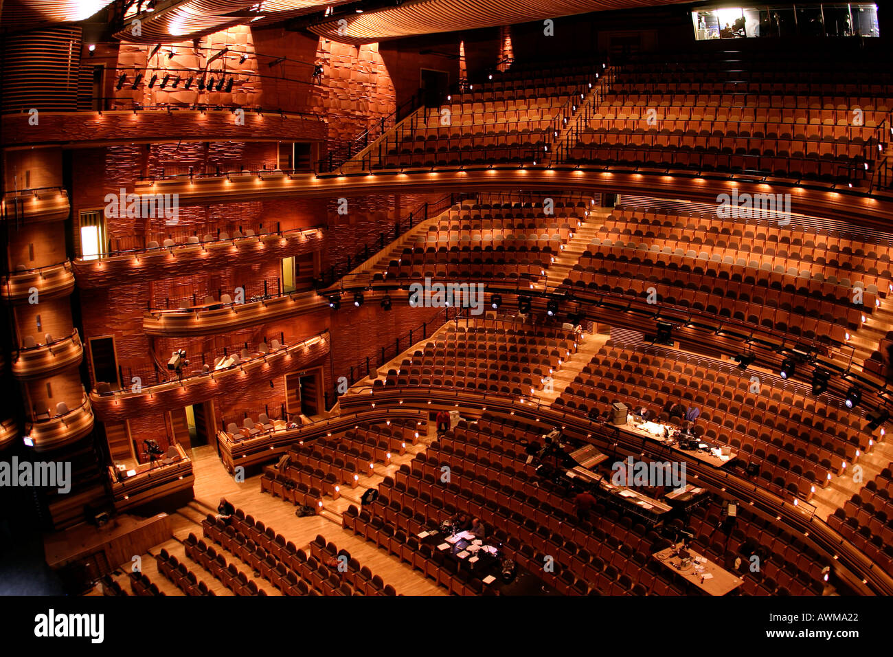 Interior Wales Millennium Centre Cardiff Bay South Wales ...