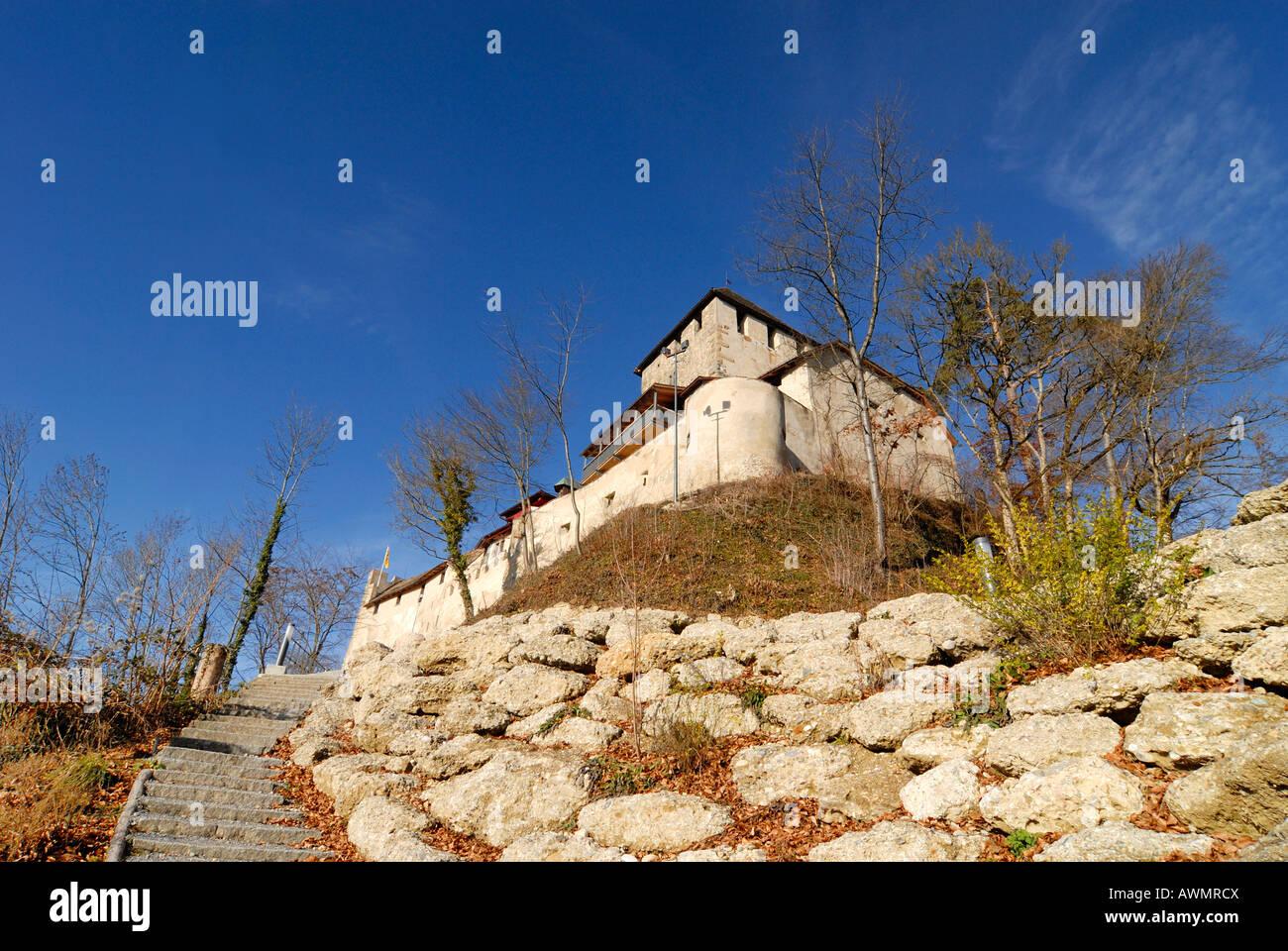 Hohenklingen castle - Stein am Rhein, Canton of Schaffhausen, Switzerland, Europe. - Stock Image