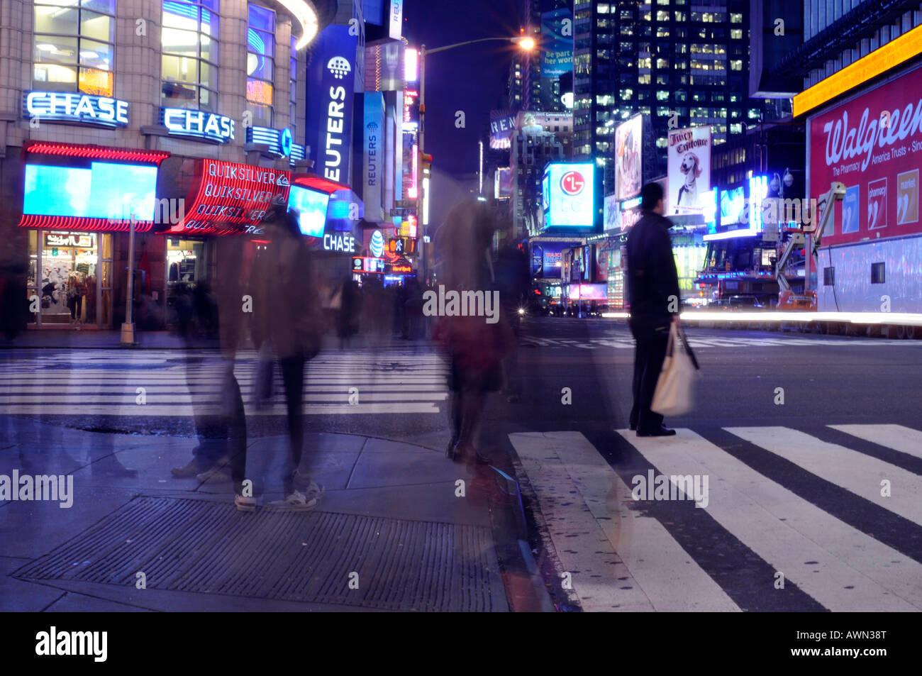 Times Square, New York, USA Stock Photo