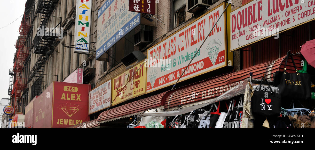 Chinatown, New York City, NY, USA - Stock Image