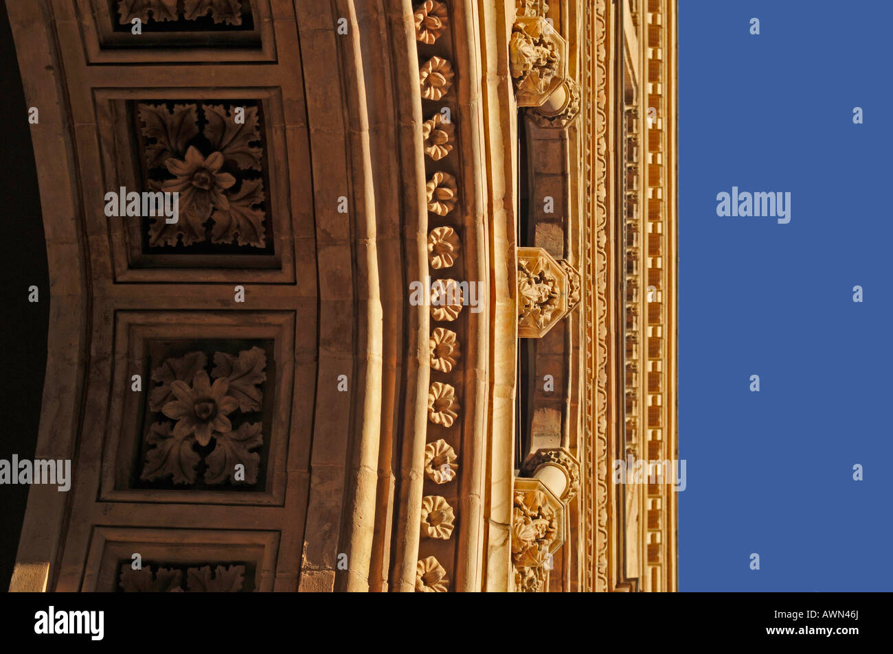 Detail, Upper Bavarian government buildings, Munich, Germany, Europe Stock Photo