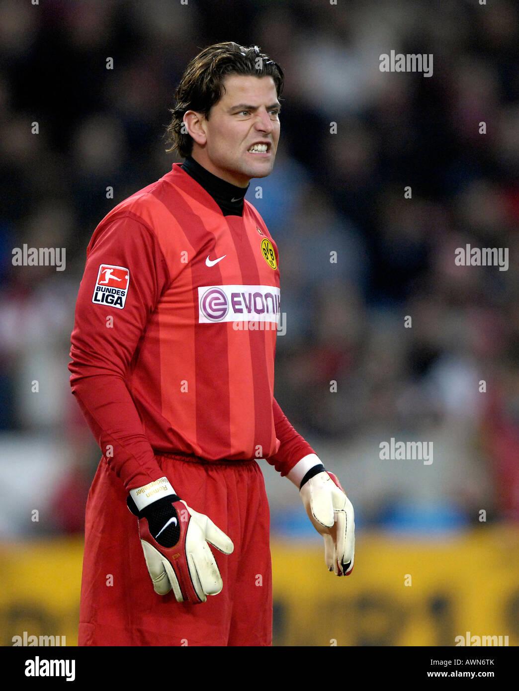 Goalkeeper Roman WEIDENFELLER Borussia Dortmund - Stock Image
