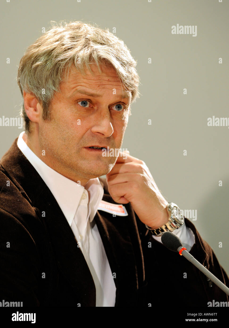Armin VEH coach VfB Stuttgart - Stock Image