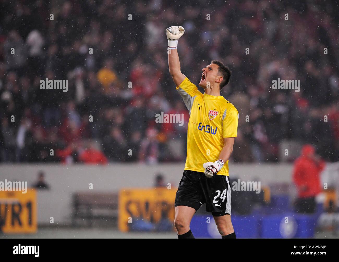 Goalkeeper Sven ULREICH VfB Stuttgart Germany - Stock Image