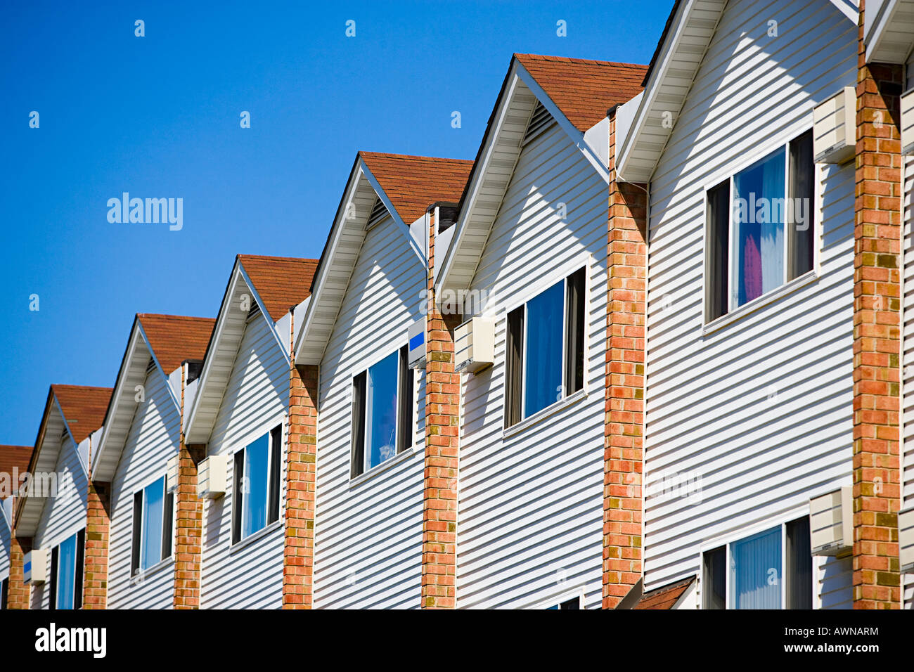 Tract houses in new jersey - Stock Image