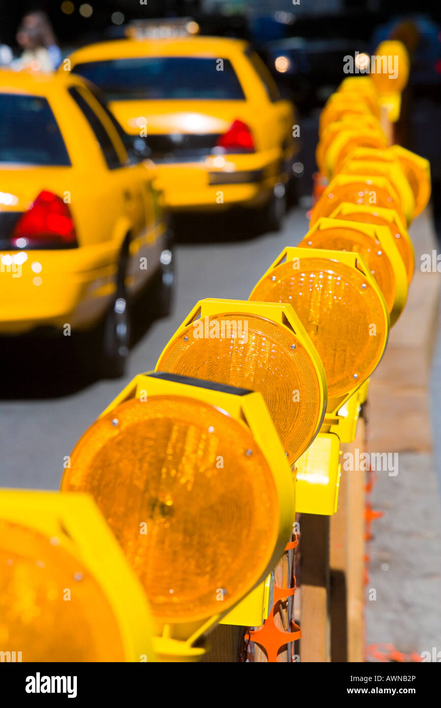 Taxicabs in new york - Stock Image