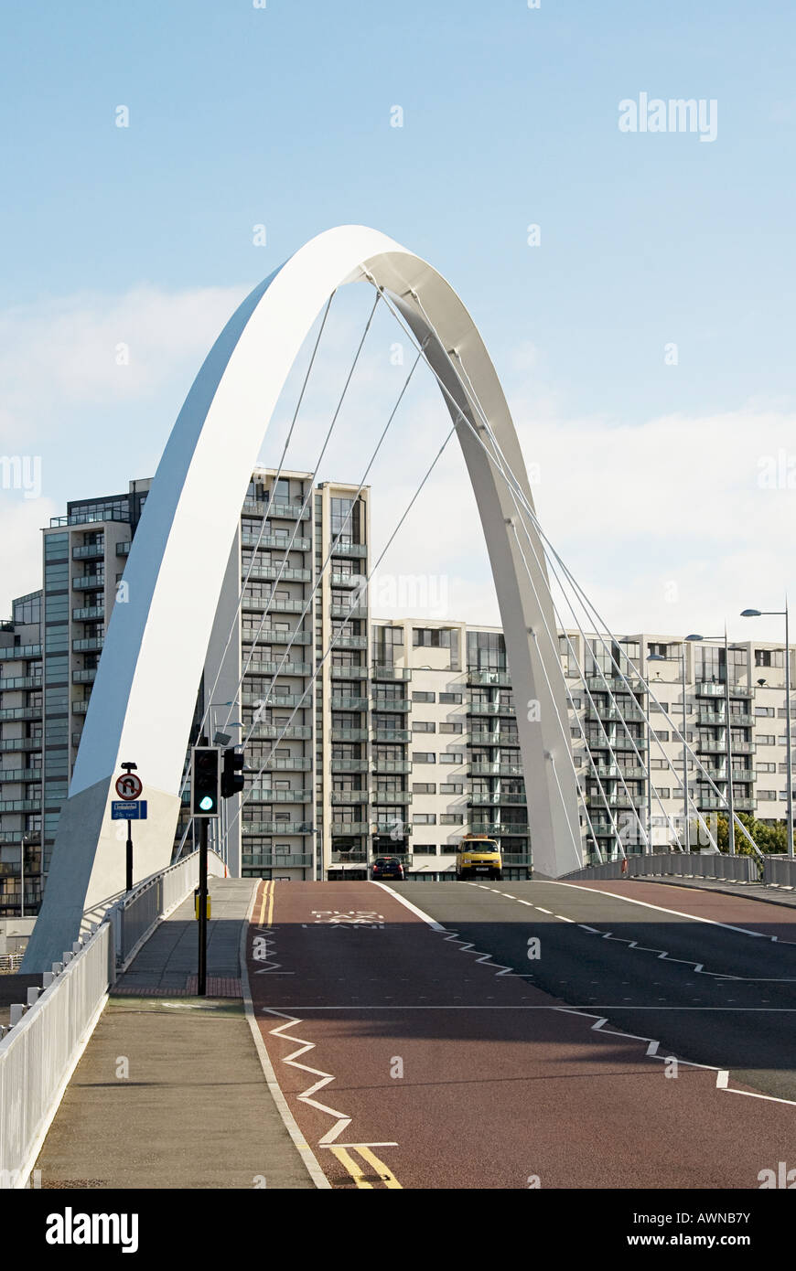 Clyde arc glasgow - Stock Image
