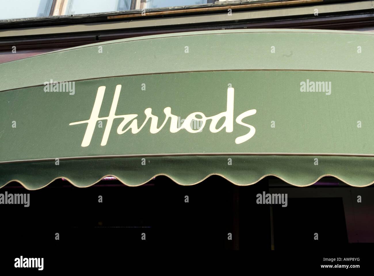 Harrods - Stock Image