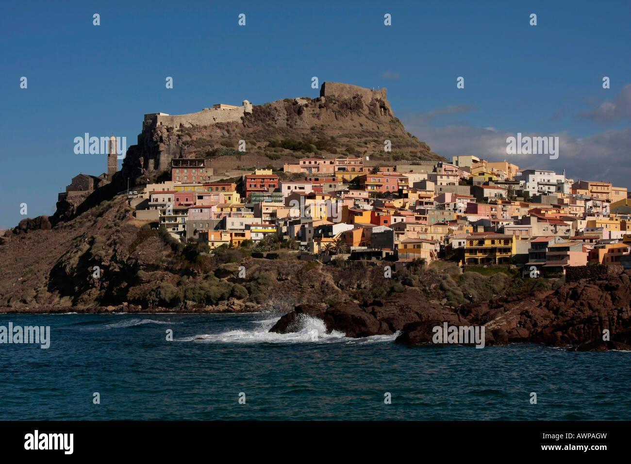 Castelsardo, Sardinia, Italy, Europe Stock Photo