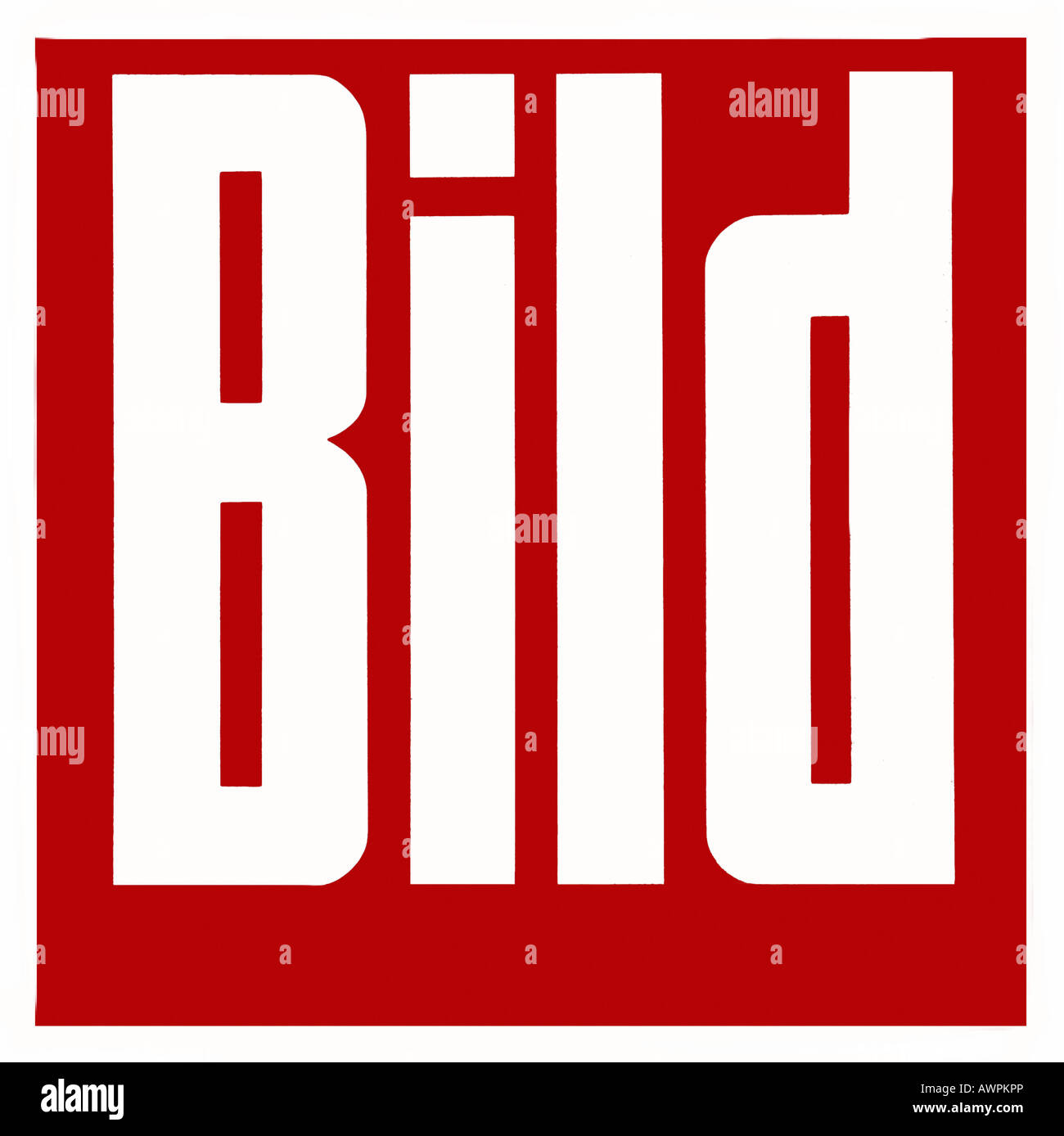 Bild logo, German newpaper - Stock Image