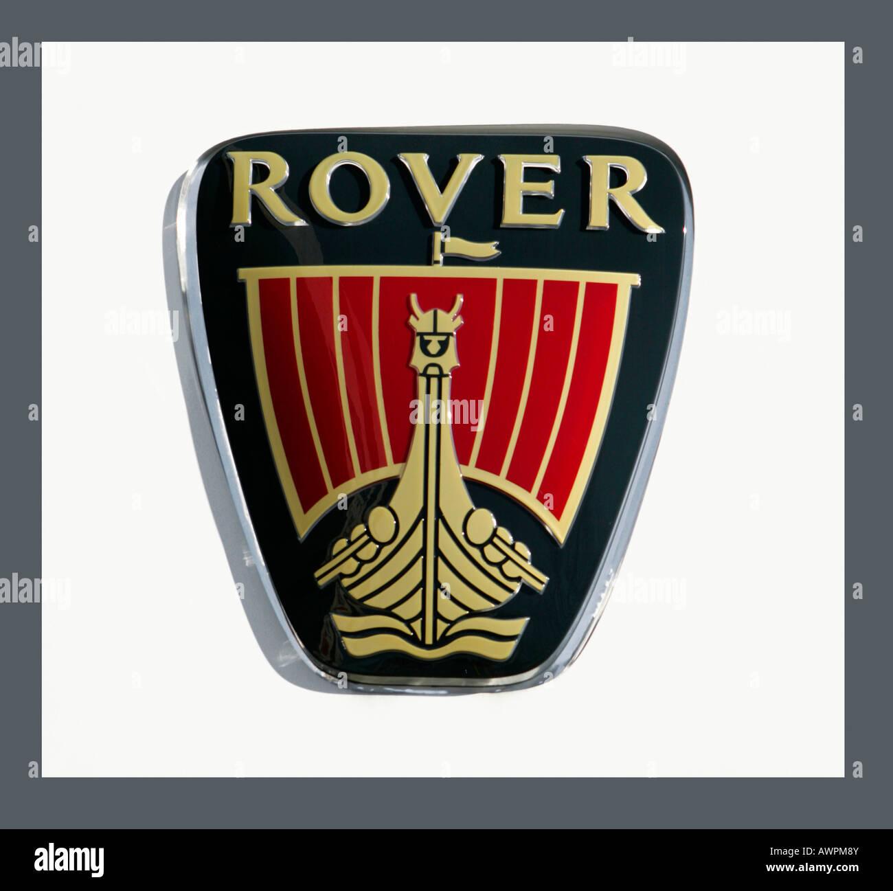 Rover logo - Stock Image