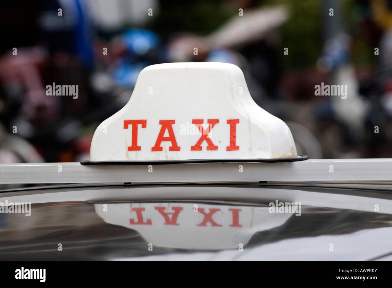 Taxi, Vietnam, Asia - Stock Image