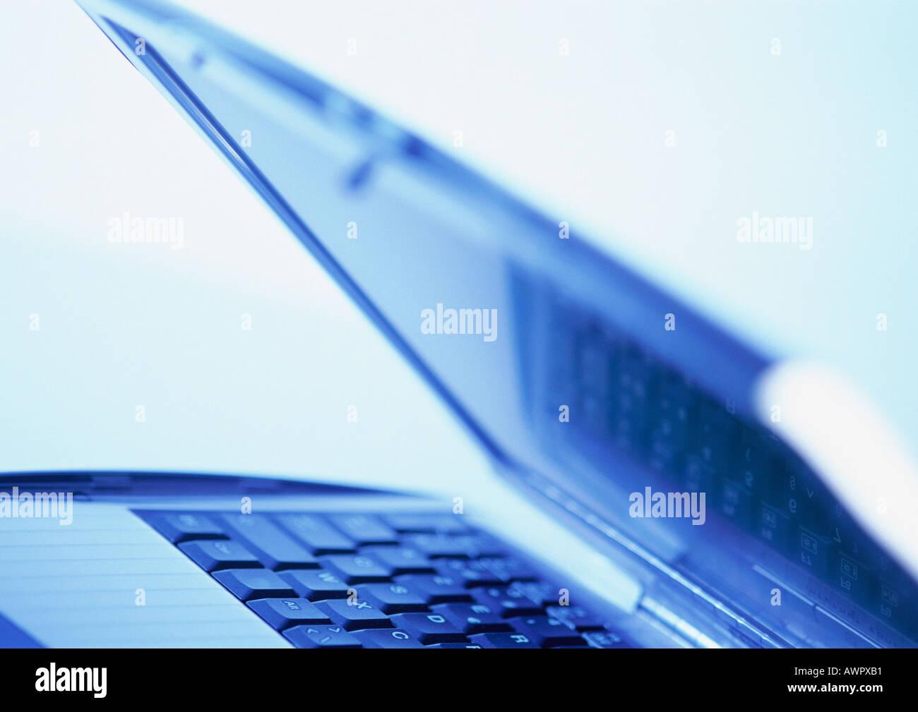 Laptop, close-up - Stock Image